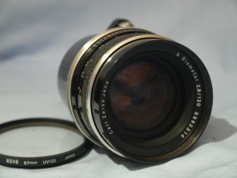 120MM CARL ZEISS Exakta Fit Carl Zeiss Biometar F2.8 120mm ...