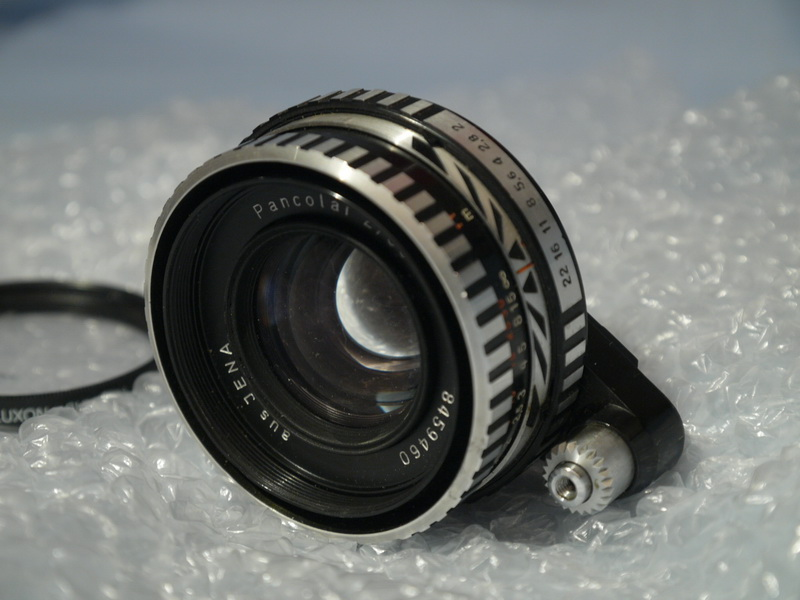 CARL ZEISS Exakta Fit Carl Zeiss Pancolar F2 50mm Prime ...