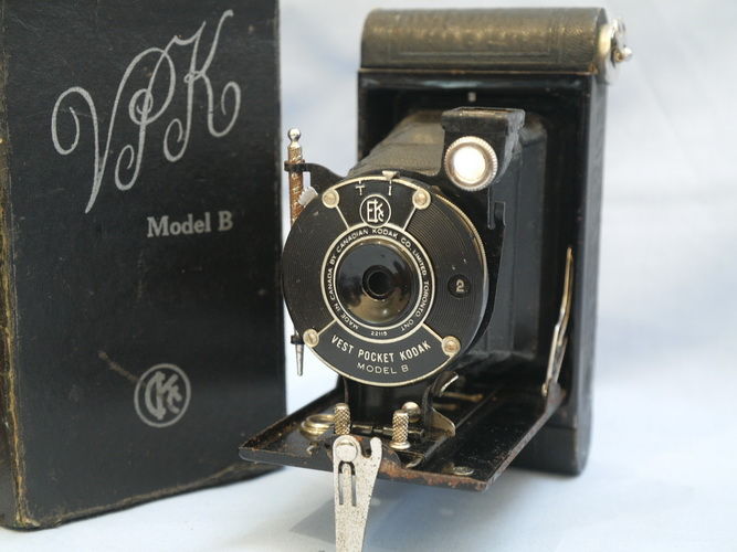 vest pocket kodak model b how to open