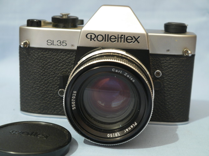Rollei Rolleiflex SL35 and Planar 1 8 50 MADE IN GERMANY 69.99