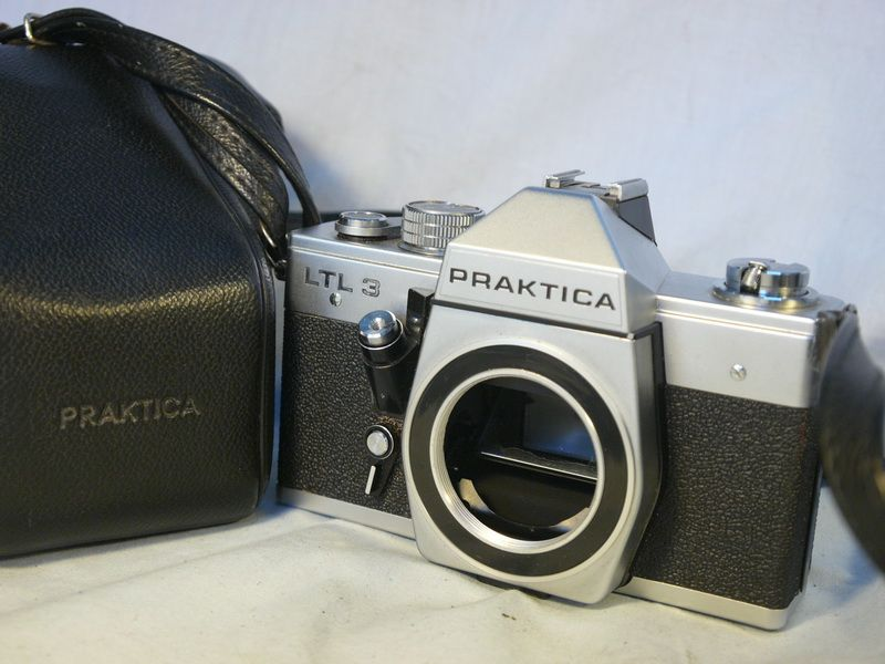 Praktica ltl3: vintage praktica ltl mirror reflex camera photo