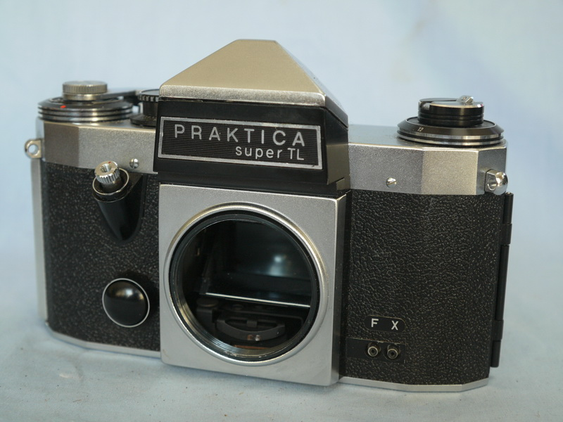 Mm praktica super tl m slr camera