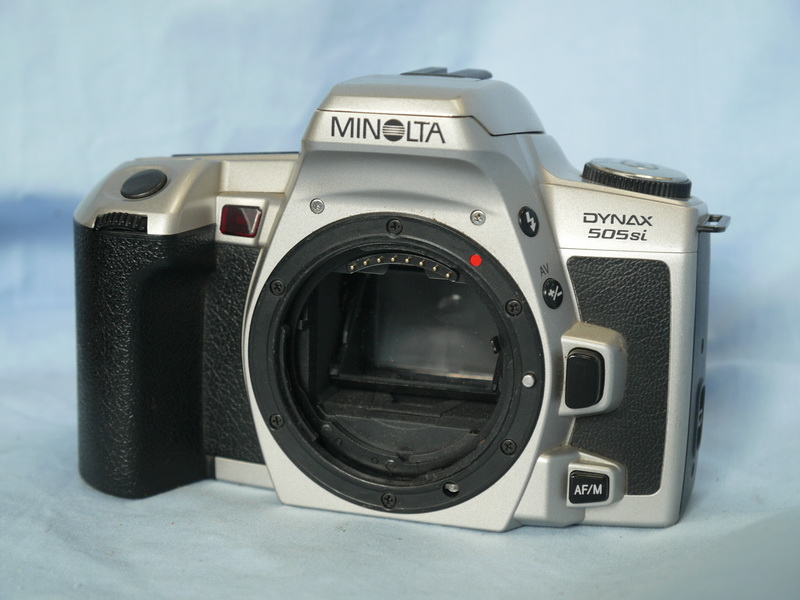 505si minolta dynax 505si slr camera 12 99 rh rockycameras com Manuals in PDF Instruction Manual Example