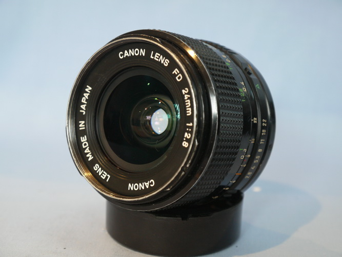 CANON 24mm F2 8 LENS FD LENS FOR CANON A1-AE1-FT-EF £39 99