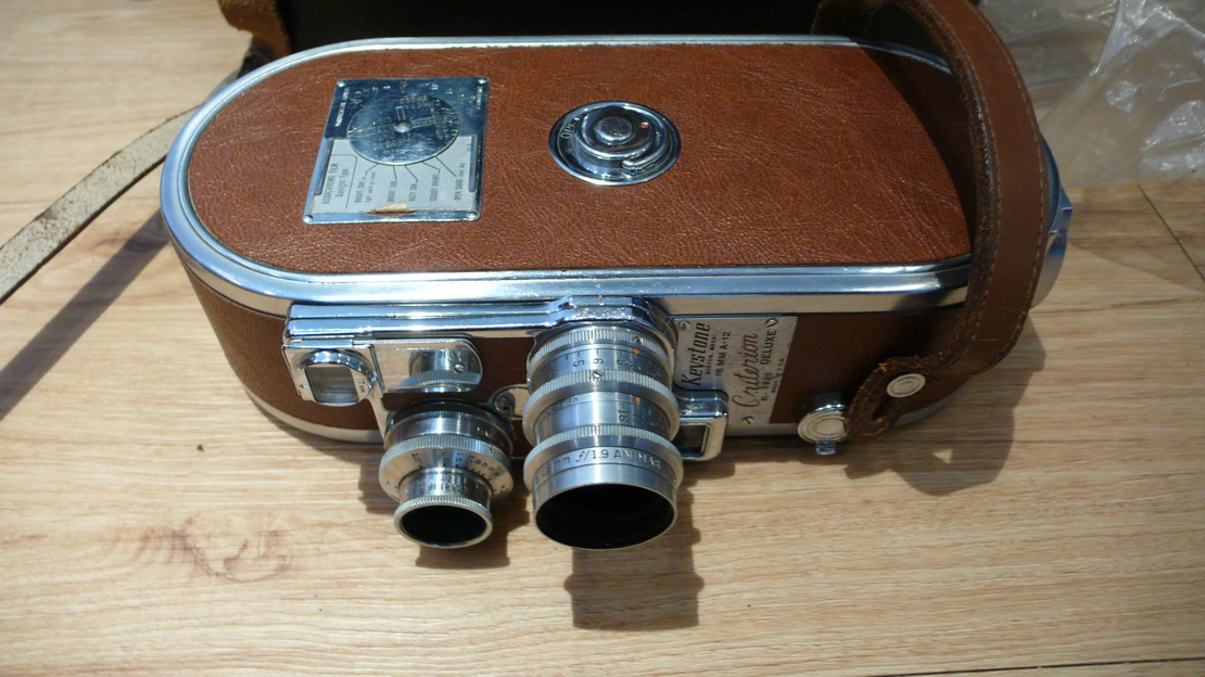Keystone 16MM A-12 Clockwork Cine Camera Cased £29 99