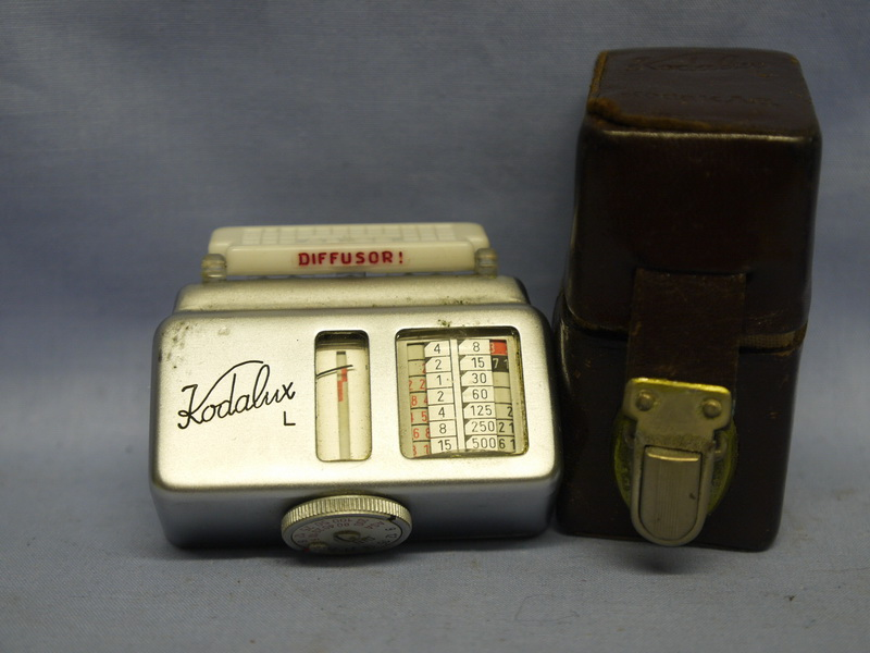 Kodak Kodalux L Accessory Shoe Cased Light Meter 12 99