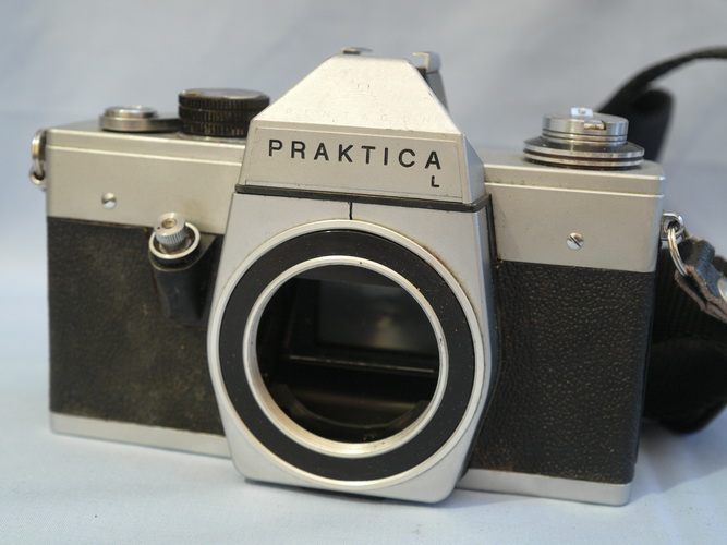 Praktica l gehäuse body slr kamera amazon elektronik