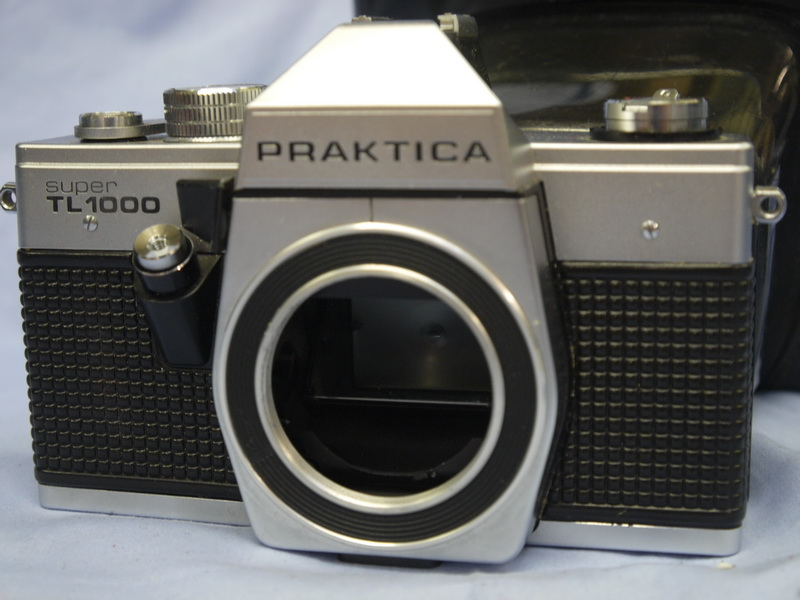 Praktica super tl m slr camera