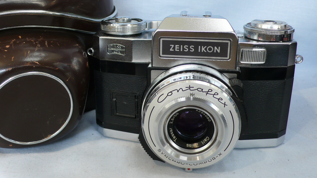 Zeiss Ikon Contaflex Super BC Cased SLR Camera 59 99